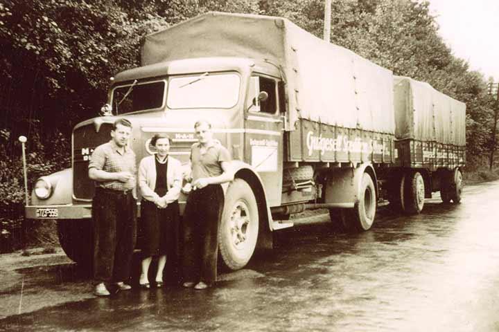 Unternehmensgeschichte Gutgesell Transporte